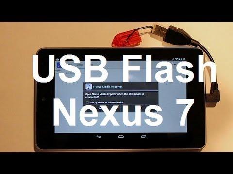 USB Storage - Nexus 7 without rooting