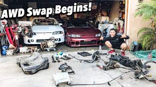 1999 Eclipse Gsx AWD Swap Begins! | Ep. 1