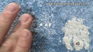 How to Fix Drywall - Repairing Nail Holes - Drywall Repair