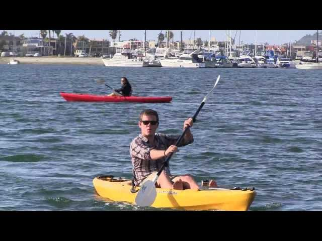 San Diego Activities - Kayaking at Bahia Resort Hotel