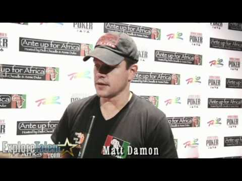 Matt Damon Interview Bourne Identity The Informant Invictus