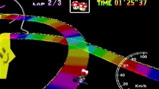 Rainbow Road SC 3lap World Record 3