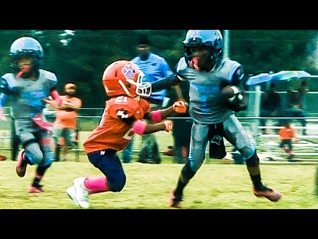 🔥Welcome All Panthers 6U vs. North Henry Tigers Youth Football Highlights thumbnail