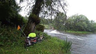 Одиночный вело-водный поход. Часть 1.(р.Анграпа)