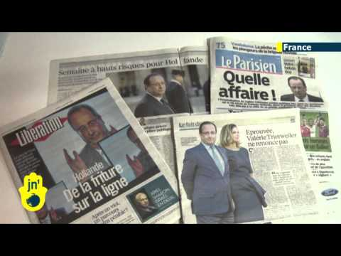 Francois Hollande Sex Scandal: French President accused of affair with actress Julie Gayet