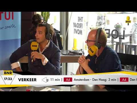 Thierry Baudet weigert politiek interview en loopt weg uit BNR The Friday Move