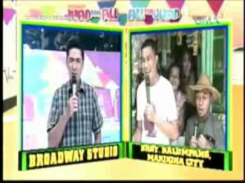 Funny Wally Bayola on Juan for all sept 11. 2011 (nag mura) XD