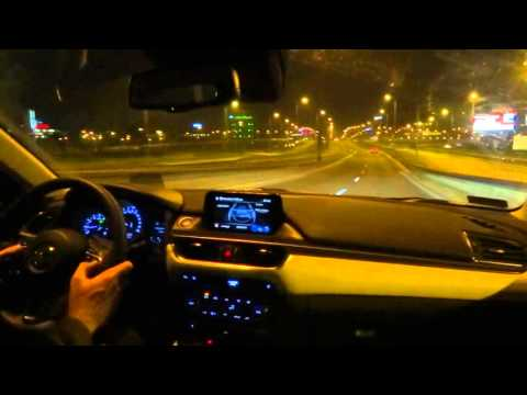 2015 Mazda 6 Touring Wagon 2.0 Manual Night Test Drive Foggy Beautiful Fog Fuel Consumption Part 1