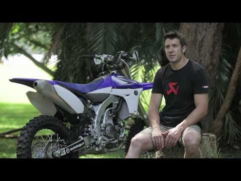 2011 Yamaha YZ450F test with Adam Riemann. Part 1.