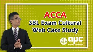 ACCA P3 Cultural Web Question from past exam online