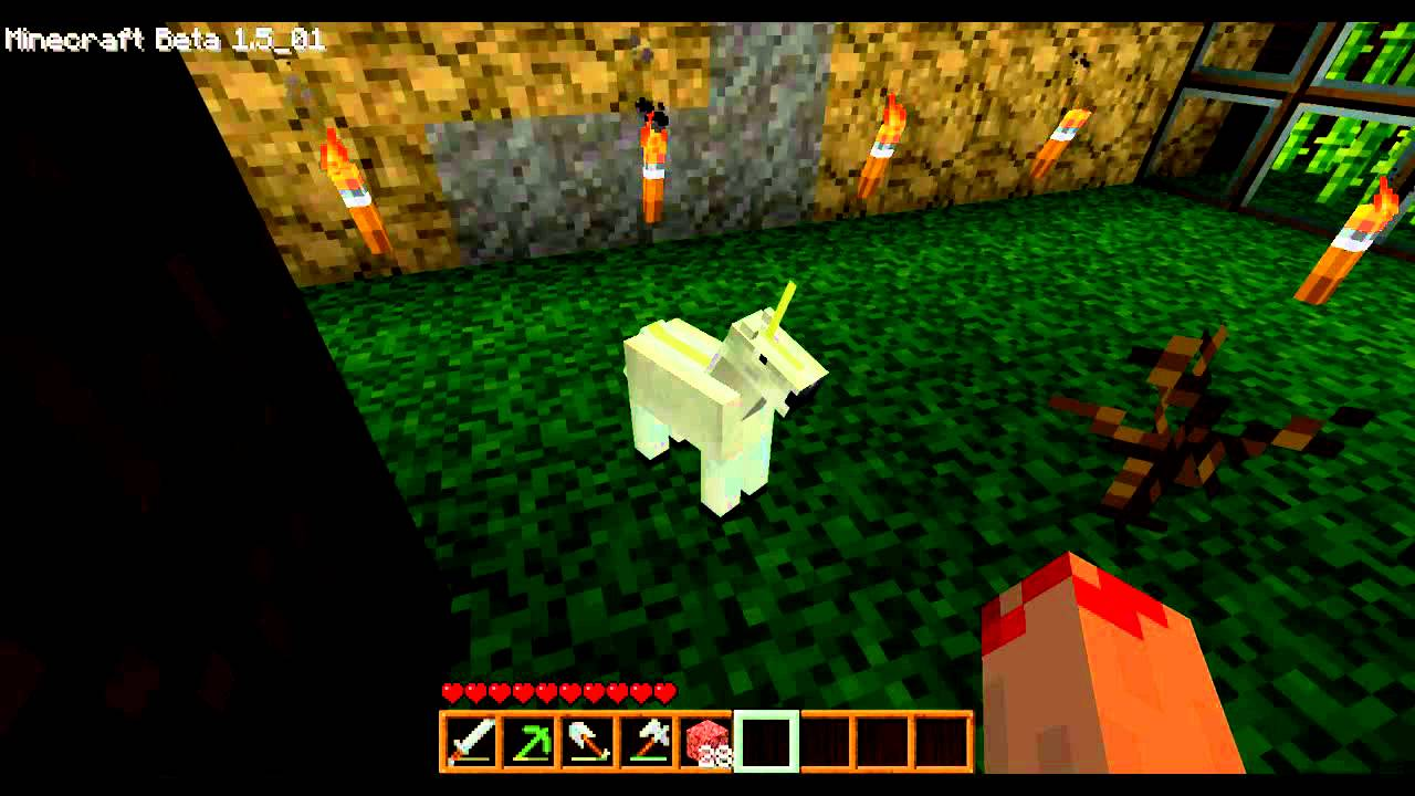 Baby Unicorn And Baby Dragon Minecraft Baby Unicorn