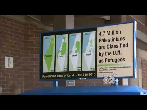 Pro-Palestinian Ads Ignite Firestorm Of Controversy from the Jews