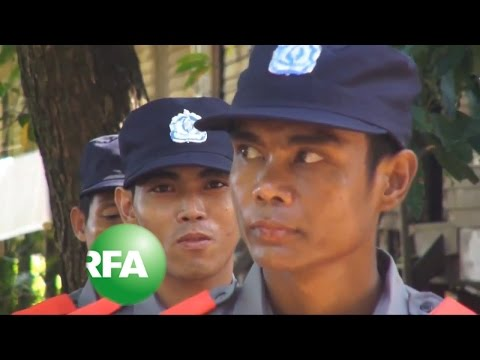Myanmar Trains Special Police for Elections