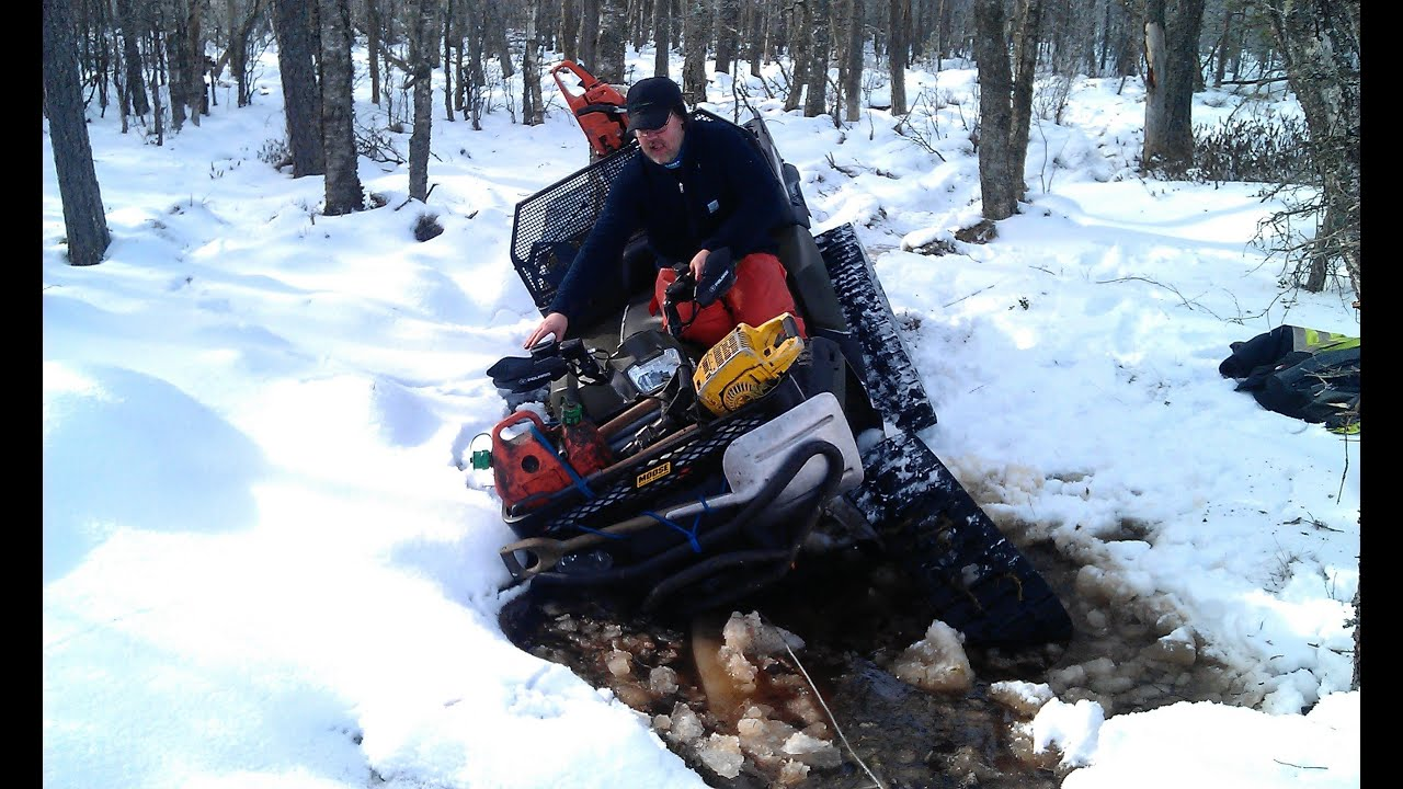 ATV Winching with two Warn 3.0ci Wireless Remote Control ...