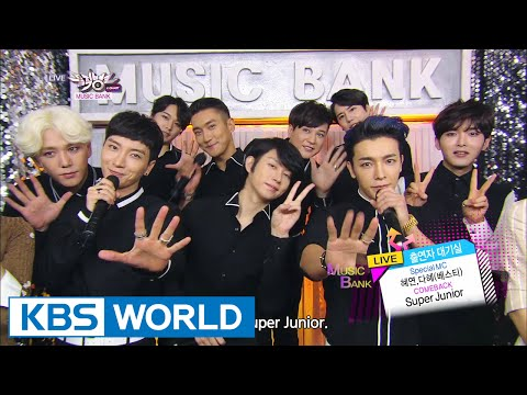 Super Junior - Shirt   Mamacita (아야야) [music Bank Comeback   2014.08.29] video