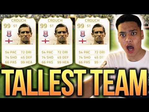 FIFA 14 - THE TALLEST TEAM!!