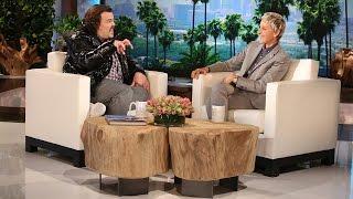 Ellen And Jack Black's Unique Fan Art