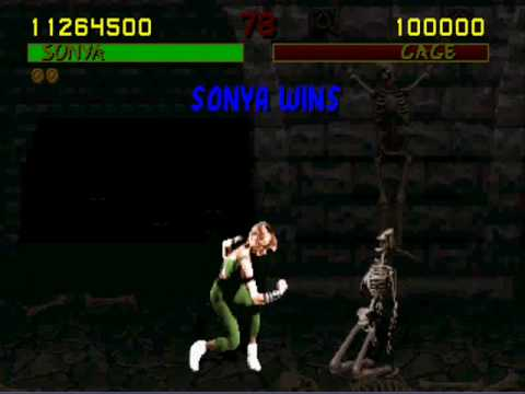 Mortal Kombat Finisher Moves vol.3: Sonya Blade