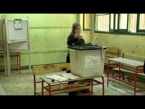 Egyptians vote in Cairo in run-off to parliamentary elections