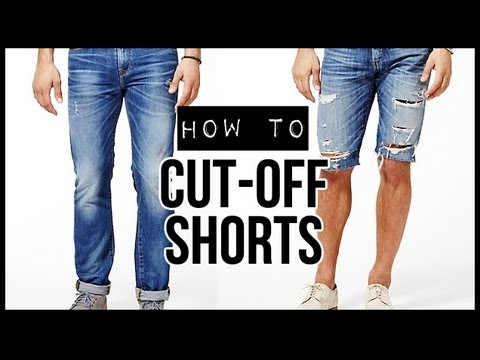 HOW TO CUT-OFF SHORTS D.I.Y TUTORIAL | JAIRWOO - YouTube