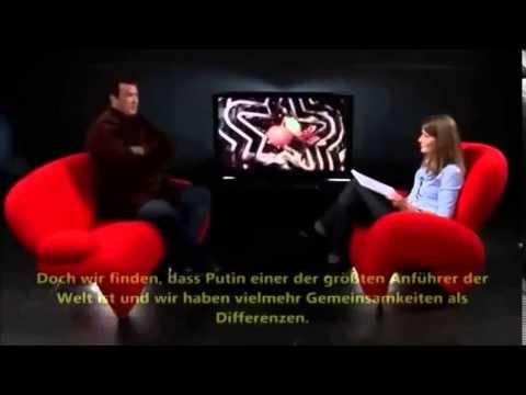 US Schauspieler Steven Seagal unterstützt Wladimir Putin
