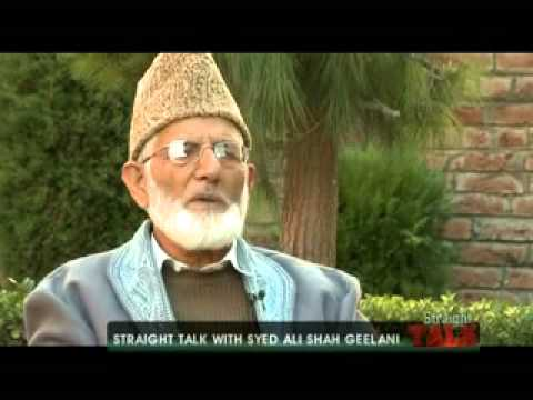 Straight Talk with Syed Ali Shah Geelani - 1