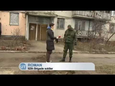 Russian-backed Militants Shell Villages in East Ukraine: Luhansk region residents live without water