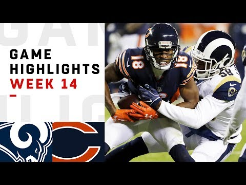 Rams vs. Bears Week 14 Highlights  NFL 2018