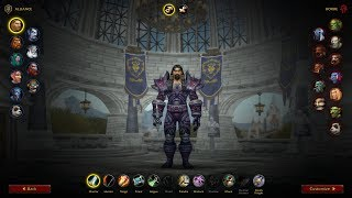 NEW Character Creation Screen for World of Warcraft | Shadowlands Alpha