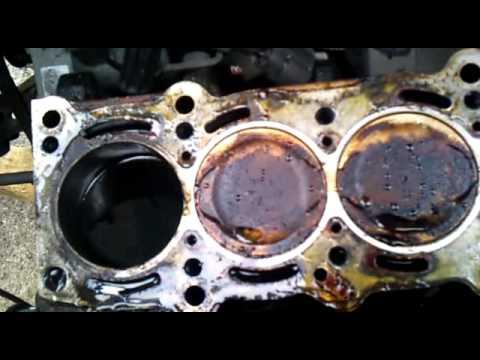 punto engine head gasket change
