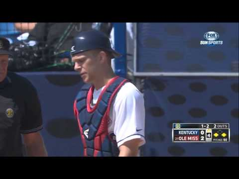 05/21/2013 Kentucky vs Ole Miss Baseball Highlights