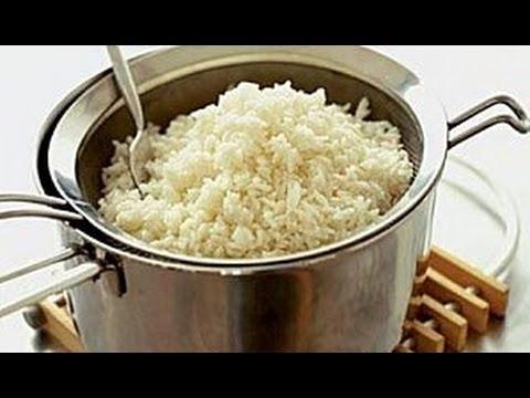 Cocinar arroz blanco (facil y sencillo)