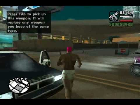 Grand Theft Auto San Andreas – Gameplay (PC)