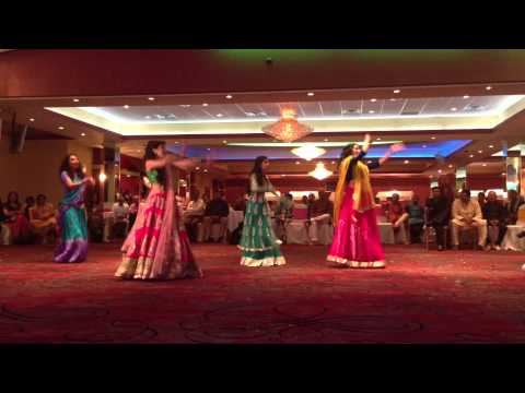 Jan and Nikhils Wedding Garba: Brides Dance