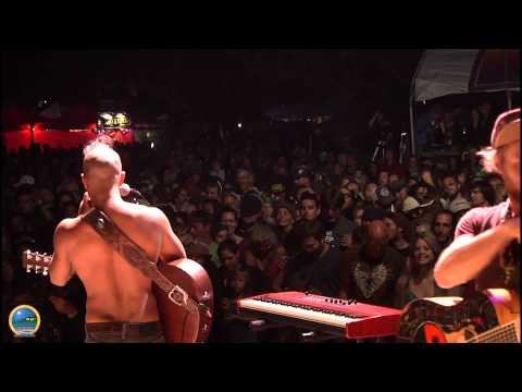 Nahko and Medicine For The People performing at Summer Arts & Music Festival 2014