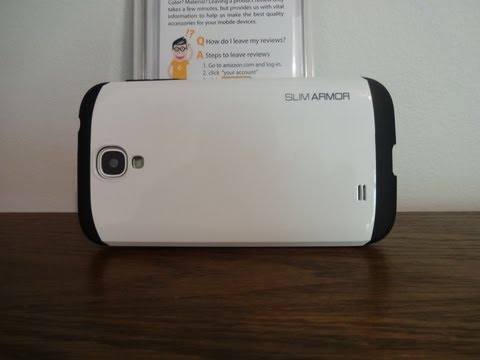 Galaxy S4 SPIGEN SGP Slim Armor Dual Layer Case Review
