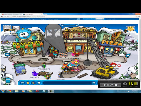 Diciendo Groserias En Club Penguin (sin suspencion)