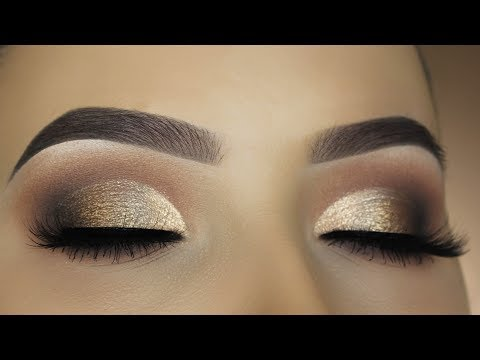 Smokey Bronze Half Cut Crease Makeup Tutorial - DESIXKATY Collection