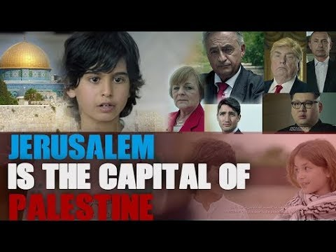 . Mr president Jerusalem is the Capital of Palestine song | Ramadan 2018