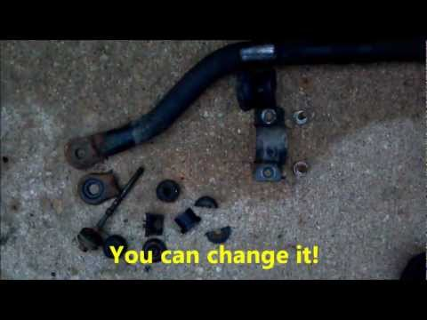 Replacing Front Sway Bar in a GM Vehicle (2001 Oldsmobile Silhouette)