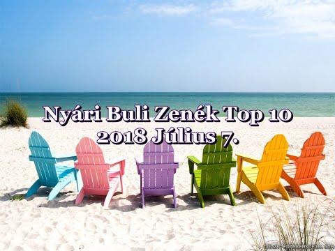 Nyári Buli Zenék Top 10 2018 Július 7