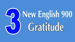 Learning English Speaking Course - New English Lesson 3 - Gratitude