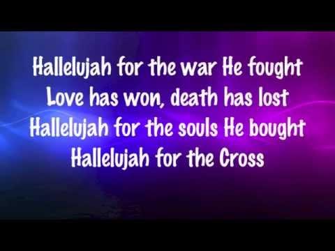 Newsboys - Hallelujah For the Cross - with lyrics (2014)