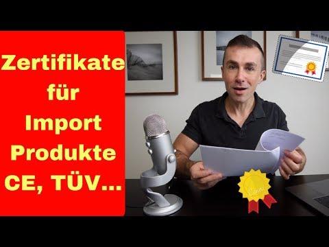 Amazon FBA Zertifikate für Import Produkte, CE Kennzeichnung, TÜV ...