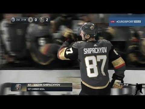Первый ГОЛ Вадима Шипачёва в NHL...