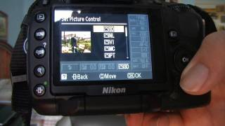 Nikon D5000 Menu Navigation and Settings Tutorial