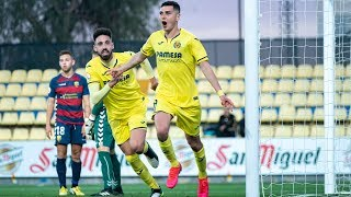 Highlights Villarreal B 4-1 UE Llagostera