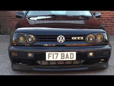 F17BAD part 2 VW GOLF GTI MK3 20VT MTM AUDI S3 POWERED WITH AUDI RS2 TURBO