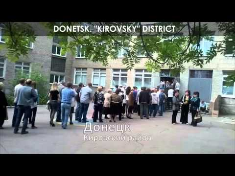 The referendum in Lugansk and Donetsk