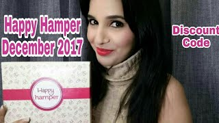 Happy Hamper December 2017 | Unboxing & Review | Discount Code | Blushing Bride Edition
